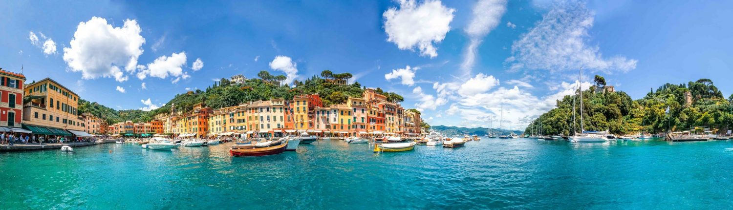 Rent a Boat Portofino - Rent a Boat Santa Margherita - Day Cruise Portofino - Day Cruise Santa Margherita - tender cinque terre - portofino skyline
