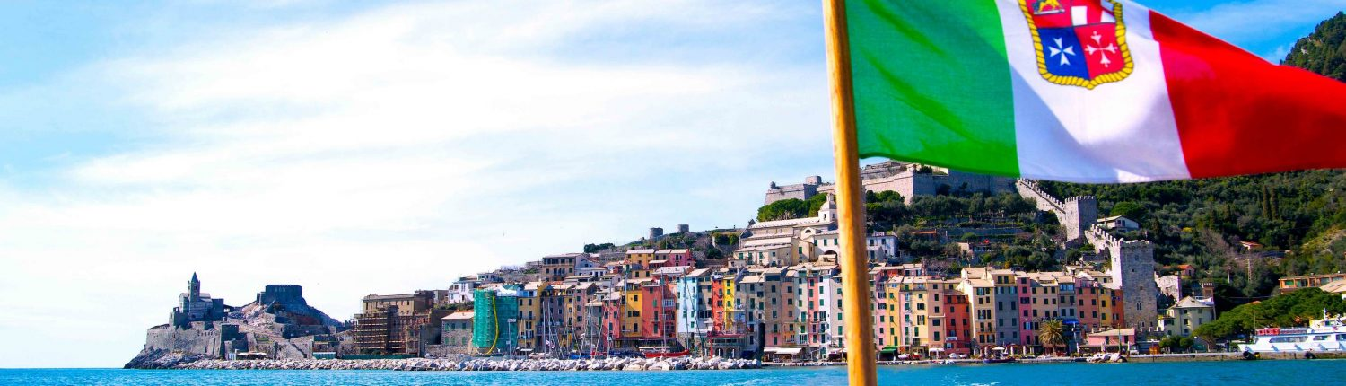 Rent a Boat Portofino - Rent a Boat Santa Margherita - Day Cruise Portofino - Day Cruise Santa Margherita - tender cinque terre -view of portovenere